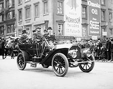 Admiral Coghlan Taft Parade NYC 1908 Photo Print for Sale