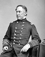 Admiral David Farragut Civil War Portrait Photo Print for Sale