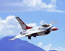 Air Force Thunderbirds F-16 Falcon Photo Print for Sale