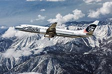 Alaska Airlines Boeing 737 in Flight Photo Print for Sale