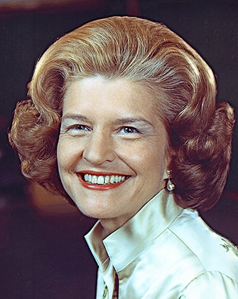 American First Lady Betty Ford Portrait Photo Print