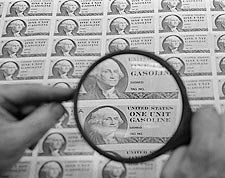 American Gas Ration Stamps 1974 Leffler Photo Print for Sale