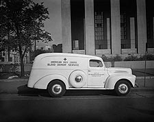 American Red Cross Ambulance Blood Donor Service 1942 Photo Print for Sale