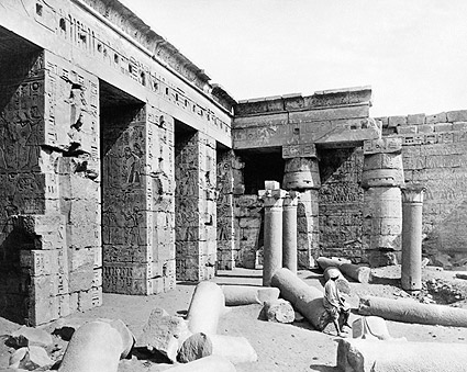 Ancient Egyptian Temple of Ramesses in Egypt Photo Print