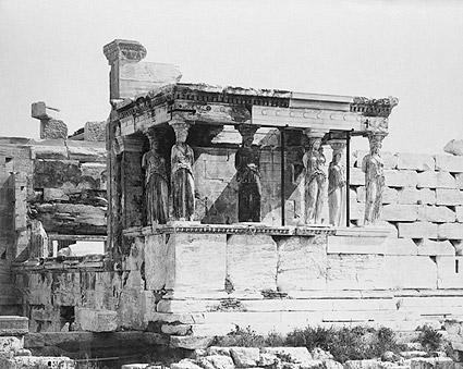 Ancient Greek Temple Erechtheum Acropolis Photo Print