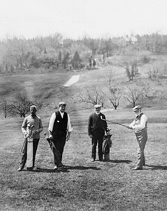 Andrew Carnegie Golfing in Westchester NY Photo Print