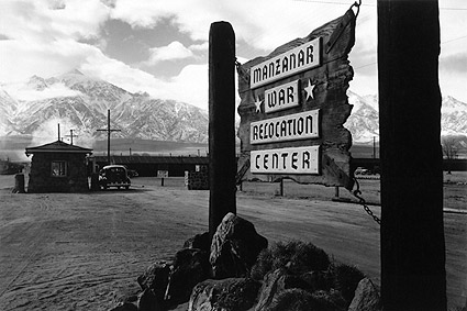 Ansel Adams Manzanar War Relocation Center Photo Print
