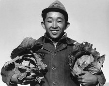 Ansel Adams WWII Manzanar Japanese Farmer Photo Print