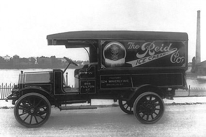 Antique Reid Ice Cream Truck Washington, DC Photo Print