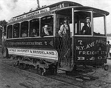 Antique Streetcar Trolley, Washington, D.C. Photo Print for Sale