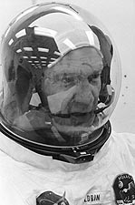 NASA Apollo 11 Buzz Aldrin in Suit Before Launch Photo Print for Sale