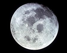 Apollo 11 Moon from Space Photo Print for Sale