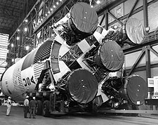 Apollo 11 Saturn V Rocket Booster Photo Print for Sale