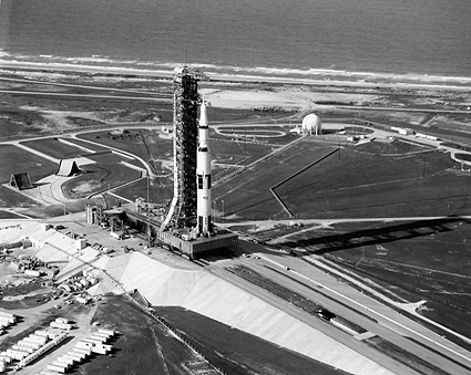 Apollo 11 Saturn V Rocket Launch Complex Photo Print
