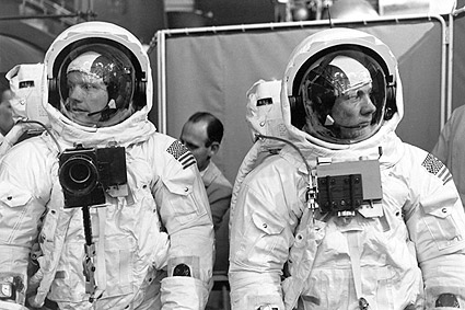 Apollo 11Armstrong Aldrin Training Photo Print