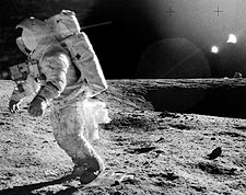 Apollo 12 Alan Bean on Moon Photo Print for Sale