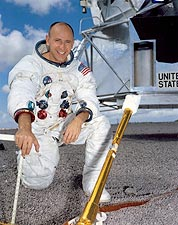 Apollo 12 Astronaut Alan Bean Portrait Photo Print for Sale