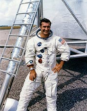 Apollo 12 Astronaut Richard Gordon Photo Print for Sale
