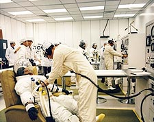 Apollo 12 Astronauts Spacesuits Photo Print for Sale