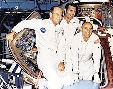 Apollo 12 Lunar Astronauts Posing Photo Print for Sale