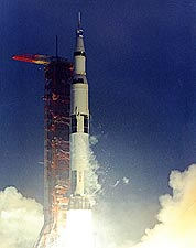 Apollo 12 Saturn Booster Liftoff Photo Print for Sale