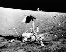 Apollo 12 Surveyor III & Lunar Module NASA Photo Print for Sale