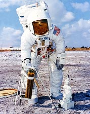 Apollo 13 Astronaut Fred Haise Training Photo Print for Sale