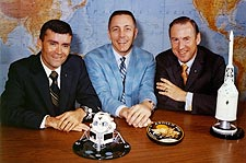 Apollo 13 Astronauts Lovell Swigert Haise Photo Print for Sale