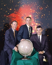Apollo 13 Crew Lovell Swigert Haise  Photo Print