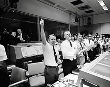 Apollo 13 Odyssey Splashdown Celebration Photo Print for Sale