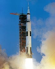 Apollo 13 Saturn V Rocket Launch 1970 NASA Photo Print for Sale