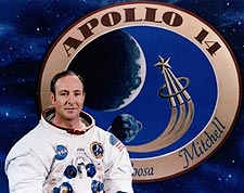Apollo 14 Astronaut Edgar Mitchell Portrait Photo Print for Sale