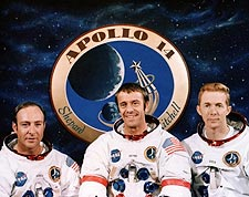 Apollo 14 Mitchell, Shepard & Roosa Photo Print for Sale