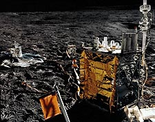 Apollo 14 NASA Apollo Lunar Surface Experiment Package Photo Print for Sale