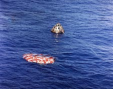 Apollo 15 Command Module Splashdown NASA Photo Print for Sale
