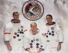 Apollo 15 Scott, Worden & Irwin Portrait Photo Print for Sale