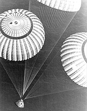 Apollo 17 Parachute Recovery Photo Print for Sale