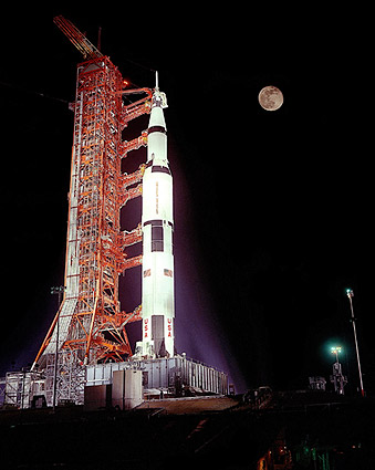 Apollo 17 Saturn V Rocket Prelaunch Photo Print