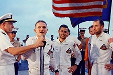 Apollo 8 Astronauts Borman, Lovell & Anders Photo Print for Sale