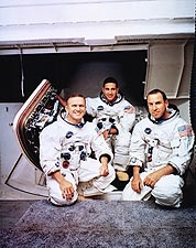 Apollo 8 Borman, Lovell & Anders Portrait Photo Print for Sale