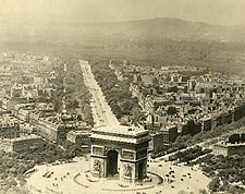 Arc de Triomphe de l'�toile in Paris 1915 Photo Print for Sale