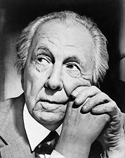 Architect Frank Lloyd Wright Portrait Photo Print for Sale