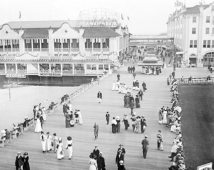Asbury Park Boardwalk Seaside Resort 1900s Photo Print