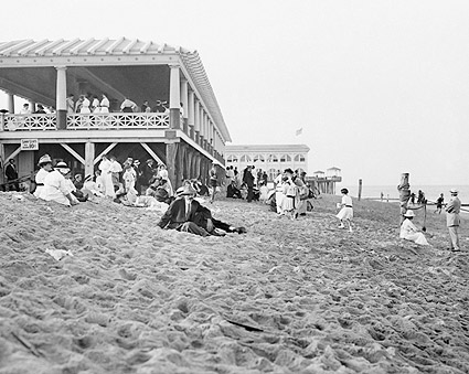 Asbury Park Seashore New Jersey Beach 1900s Photo Print