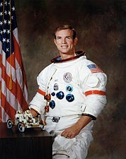 Apollo 15 Astronaut David Scott Portrait Photo Print for Sale