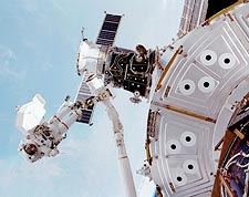Astronaut James Voss & Discovery NASA Photo Print for Sale