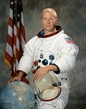Astronaut Paul J. Weitz Portrait Photo Print for Sale
