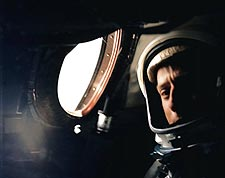 Astronaut Pete Conrad in Gemini 5 Photo Print for Sale