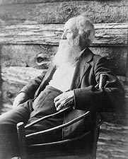 Author John Burroughs 1901 Portrait Photo Print for Sale