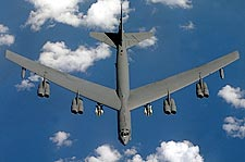B-52 Stratofortress Overhead Flight Photo Print for Sale